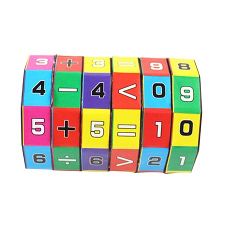 - Outtop New Children Kids Mathematics Numbers Magic Cube Toy Puzzle Game Gift