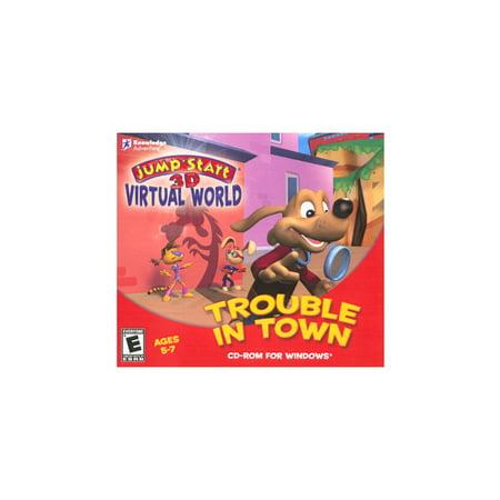 Virtual Matrix Software - JumpStart 3D Virtual World: Trouble in Town