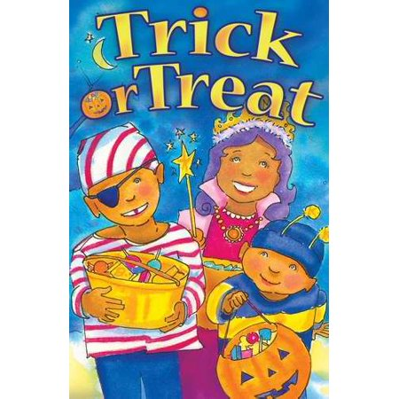 Tract-Halloween: Trick Or Treat (ESV) (Pack Of 25) - Gospel Tracts For Halloween