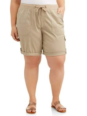 e93c5df3356 Product Image Women s Plus Size Cargo Shorts