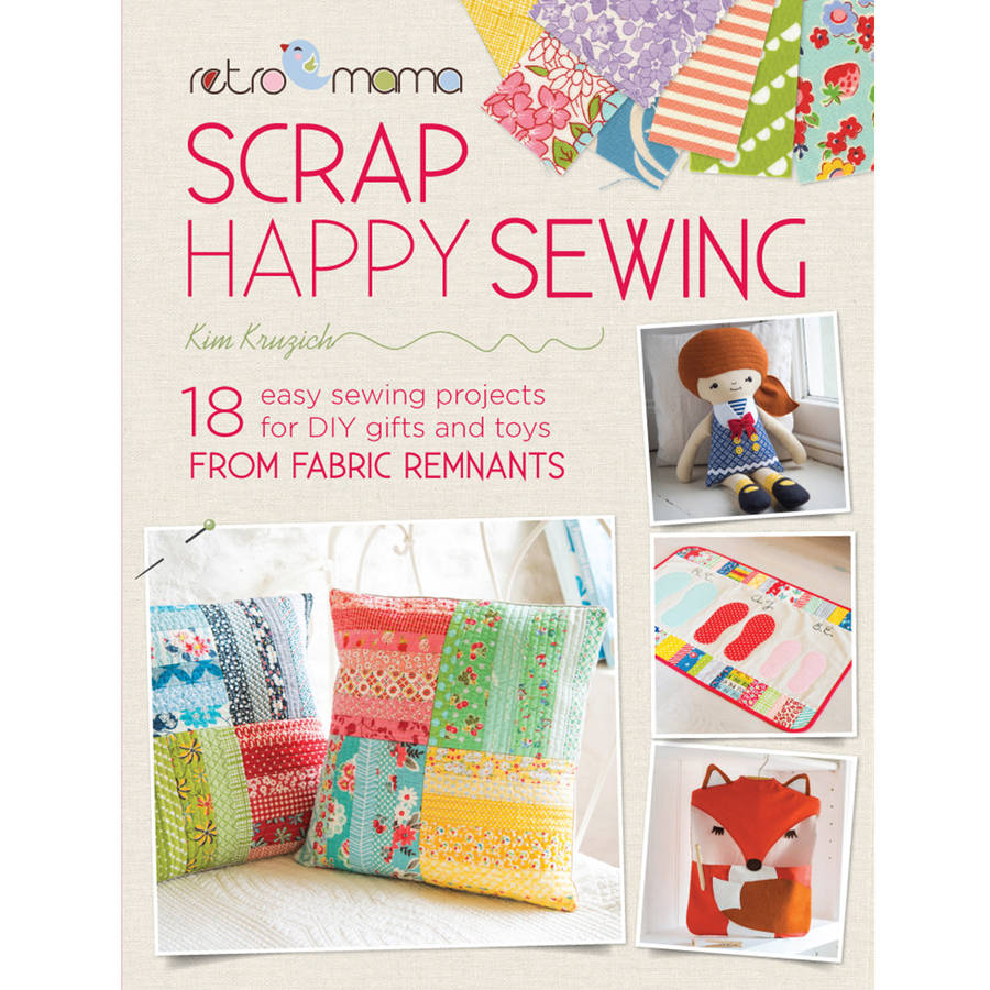 David and Charles Books Scrap Happy Sewing