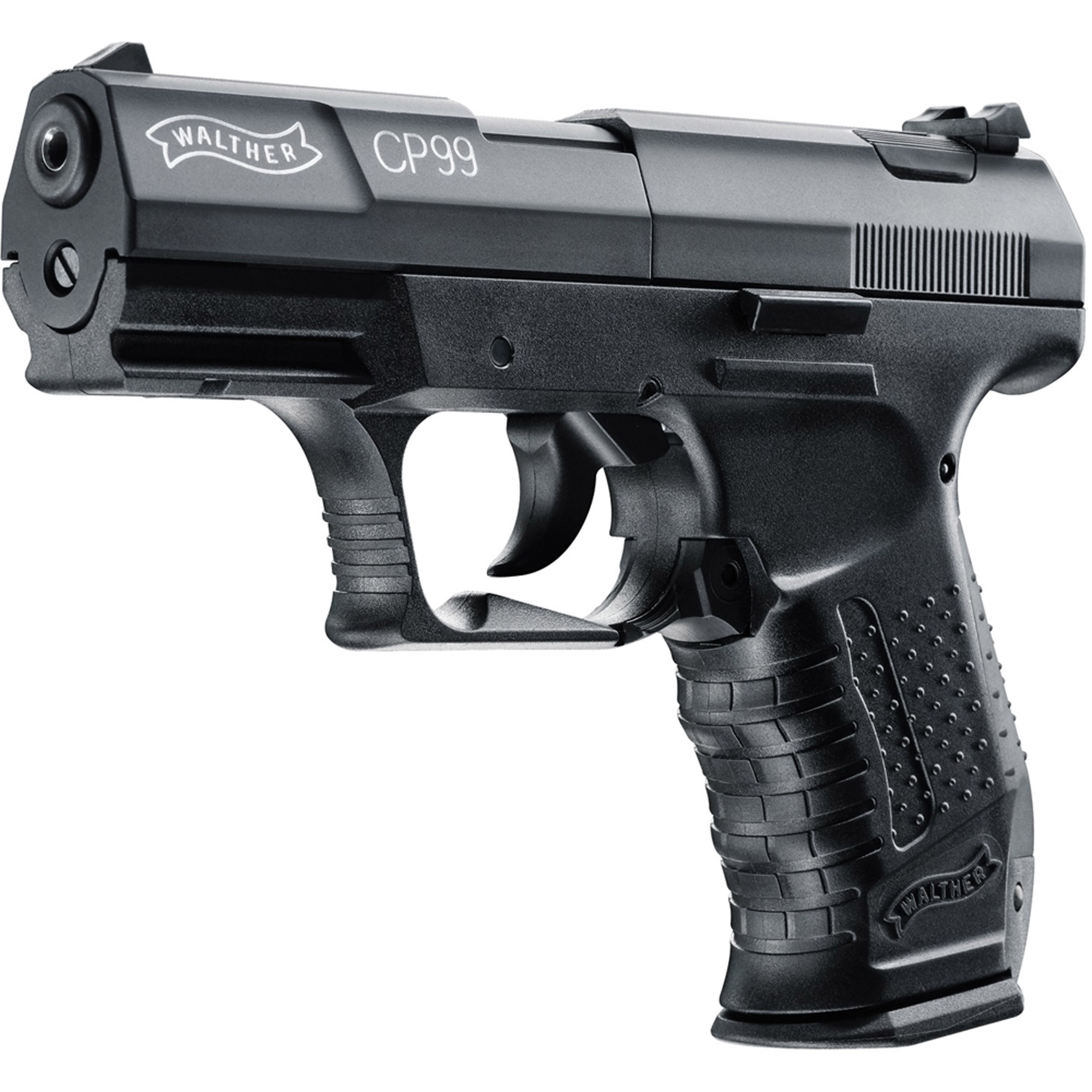 Walther CP99 Air Gun, 8 Shot Rotary, Black