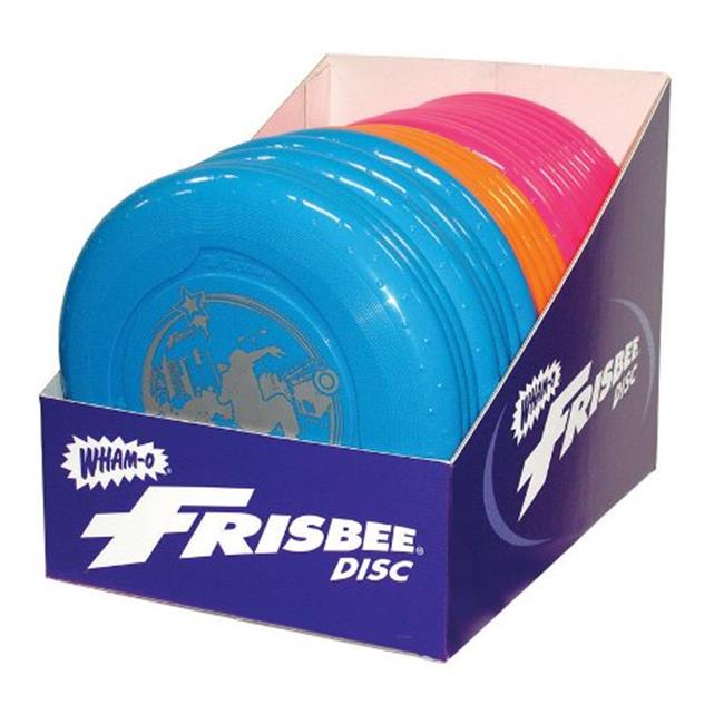 Frisbee 51132 70 g Fun Flyer Frisbee, Assorted - Pack of 24