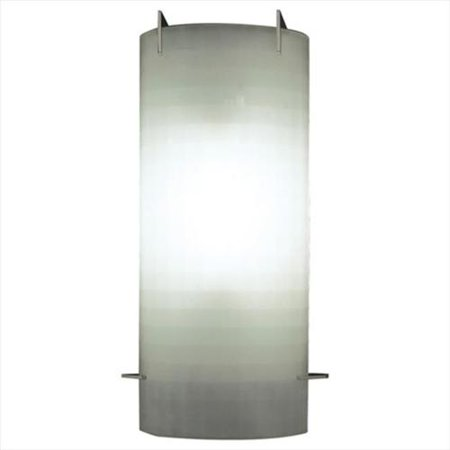 plc lighting 12106 pc 1-light wall sconce contempo collection, polished chrome finish