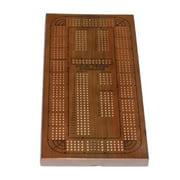 Classic Cribbage Set - Solid Oak Medium