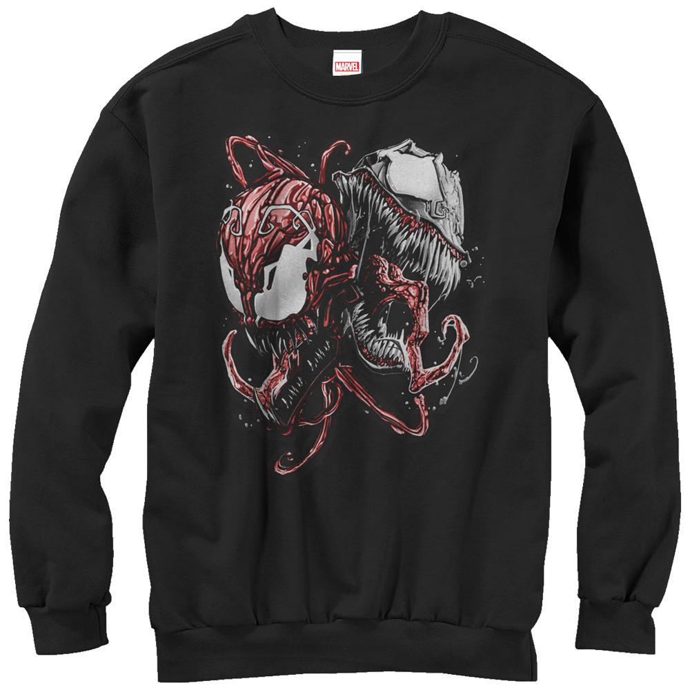 Marvel Men's Carnage and Venom Sweatshirt