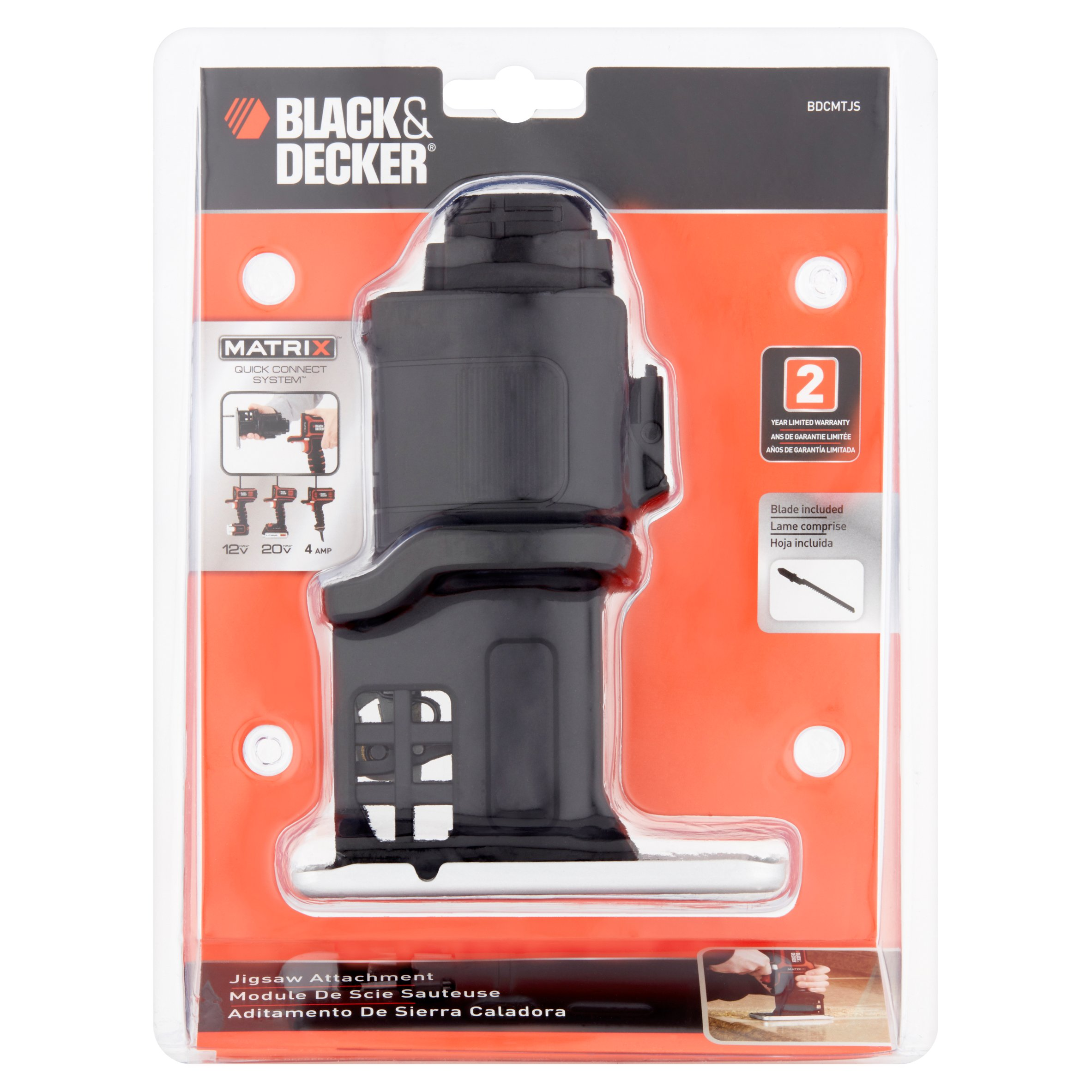 Black & Decker BDCMTJS Matrix Quick-Connect Jigsaw Attachment by Black & Decker (U.S.) Inc.