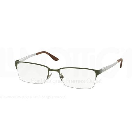 RALPH LAUREN Eyeglasses RL 5089 9283 Semi Olive (Ralph Lauren Eyeglass)