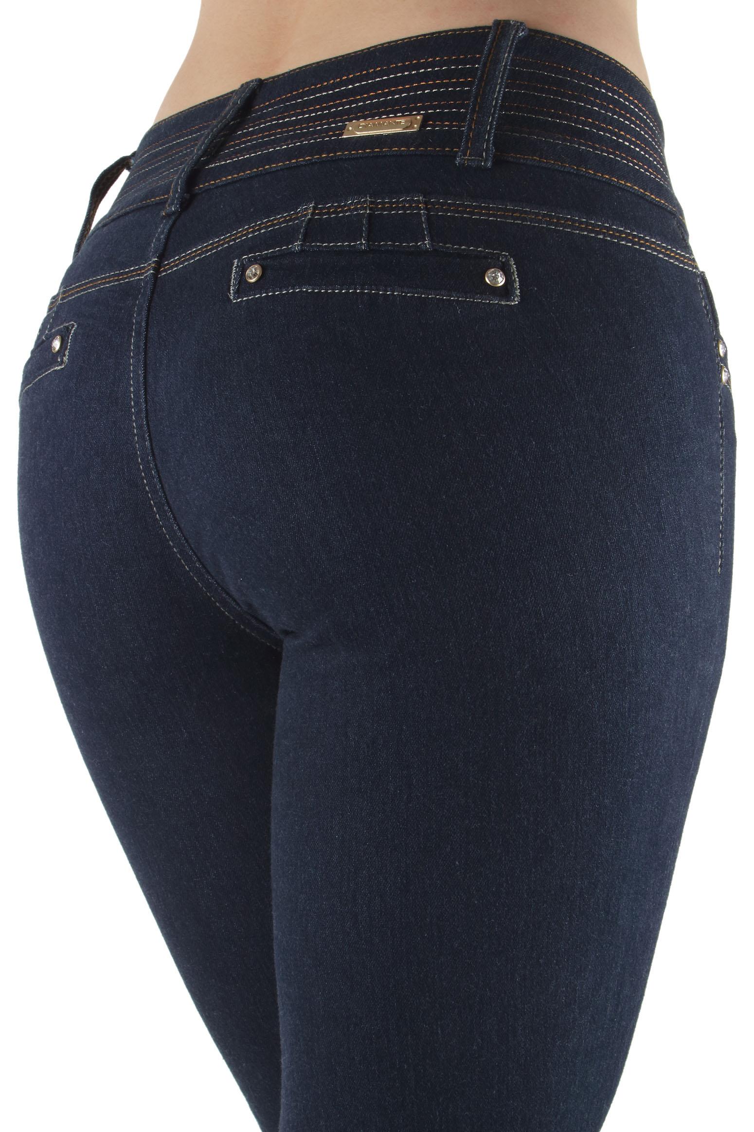 N810SKP - Plus Size, Colombian Design, Butt Lift, Levanta Cola, Skinny Jeans