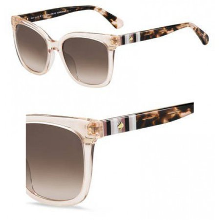 Sunglasses Kate Spade Kiya/S 0733 Peach / HA brown gradient (Azure Gradient Lens)