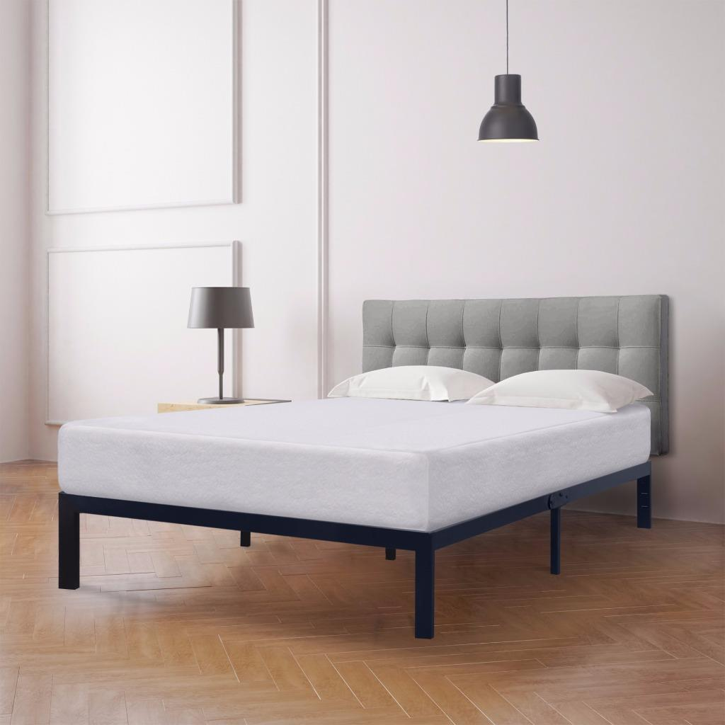 Best Price Mattress 10 inch Memory Foam Mattress and Model E Bed Frame Set, Multiple Sizes