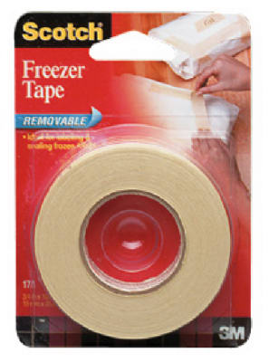 3//4 x 1000 Inch Scotch Freezer Tape 3-PACK