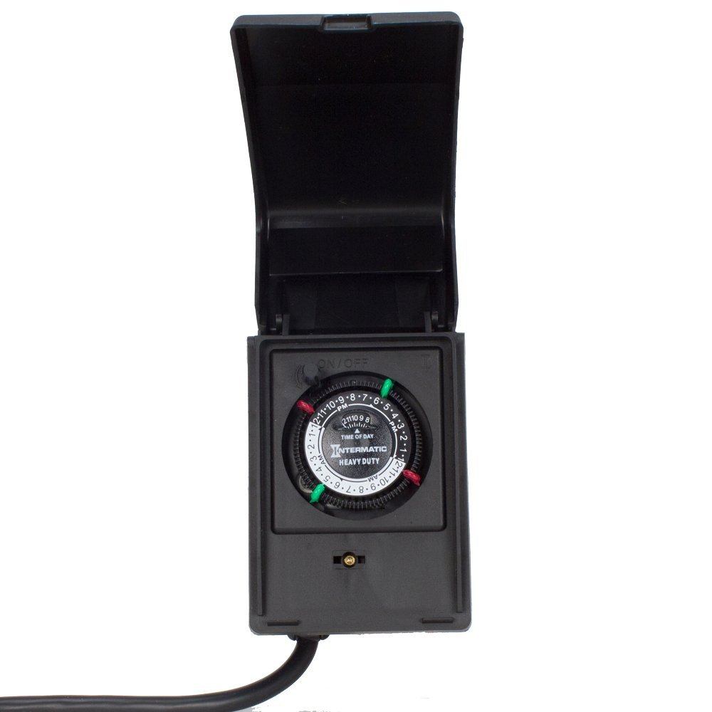P1121 Heavy Duty Outdoor Timer 15 Amp/1 HP, Ship from USA...