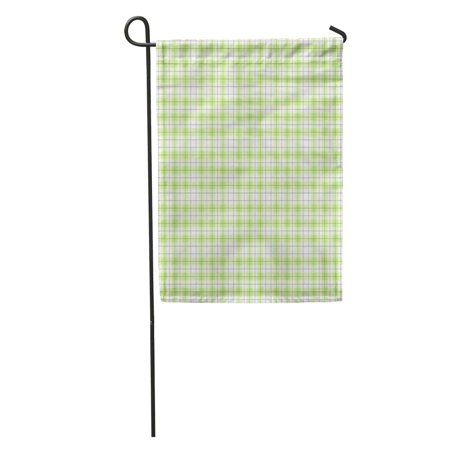 POGLIP Green Flannel Tartan Plaid Pattern Red Scottish British Check Checkered Garden Flag Decorative Flag House Banner 28x40 inch - image 1 de 2