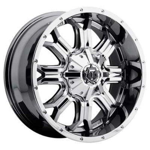 TIS 20x9 PVD Chrome 535V Wheels 5x114.3 & 5x127 -12 Offset