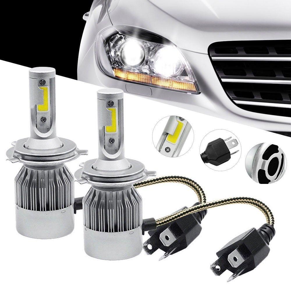 2 PCS COB H4 C6 10800LM 120W LED Car Headlight Kit Hi//Lo Turbo Light Bulbs 6000K