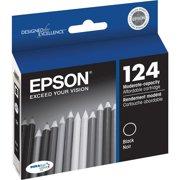 Epson 124 Standard-capacity Black Ink Cartridge