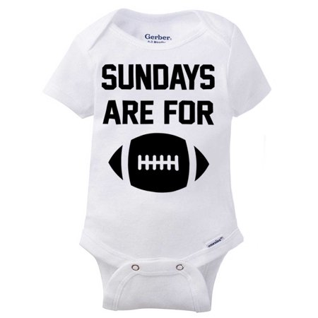 Sunday Football Funny Shirt | Cute Baby Gift Sport Pro Cool