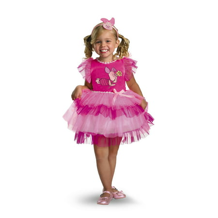 Child Frilly Piglet Dress Costume Disguise 25645](Halloween Disguise Ideas)