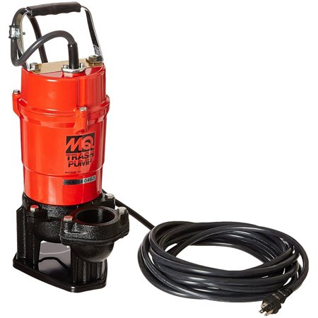 Multiquip St2040t Electric Submersible Trash Pump With Single Phase Motor  1 Hp  79 Gpm  2  Suction And Discharge