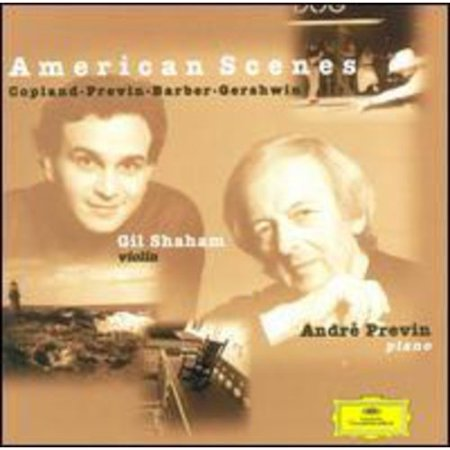 This Disc Received The 1999 Grammy Award For  Best Chamber Music Performance  Gil Shaham And Andr   Previn Have A Way With Atmosphere   Whether Playing Jazzy Gershwin Or Adventuresome Previn  They Seem To Invite The Listener In To The Recording Session  Their Dialogue Is As Much With Us As It Is With Each Other The Copland Violin Sonata Was Composed In 1942 And 1943  Around The Composition Of  Rodeo  And  Appalachian Spring    The Sonata Seems As Steeped In Americana As The Ballets  But Somehow More Personal   Both Previn And Shaham Do A Good Job Of Keeping It Simple And Direct  And This Is Where So Many Copland Performances Go Wrong The Previn Sonata  Subtitled  Vineyard   It Was Composed On Marthas Vineyard In 1994   Is More Chromatic And Angular  Yet Comes Off Simple And Songful   Shaham Often Soars Way Above The Piano And It Is Clear He Understands The Piece As Well As His Partner  The Composer   Perhaps The Nicest Thing About This Disc  Though  Is Its Programming   These American  Composers Share A Certain Honesty  Yet They Each Present Their Own Visions Of Life In The Melting Pot
