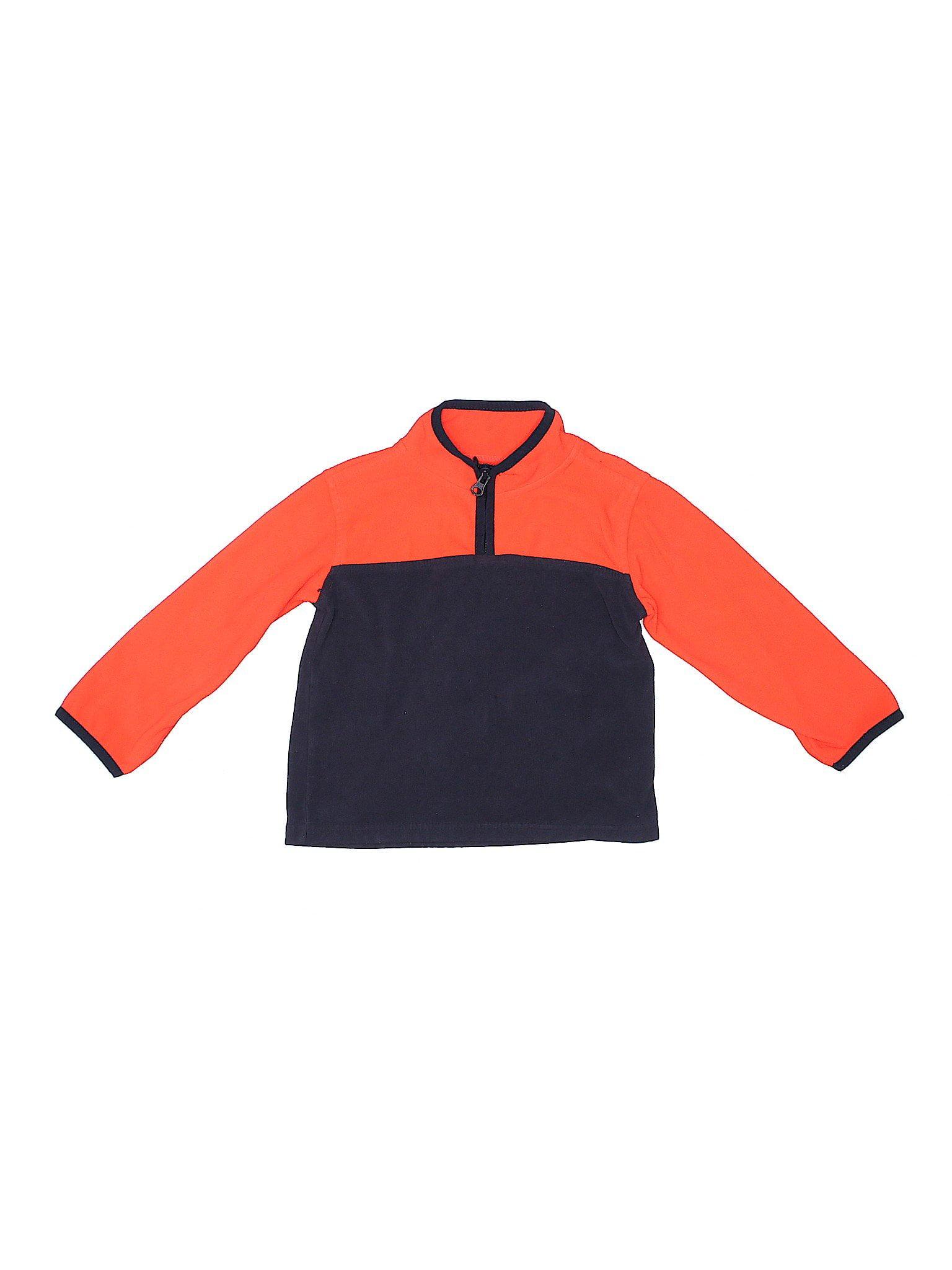Orange//Navy OshKosh Big Boys Fleece Cozie 10//12 Kids
