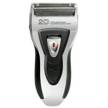 Cordless Foil Shaver For Men - Double Head Rechargeable W/ Trimmer