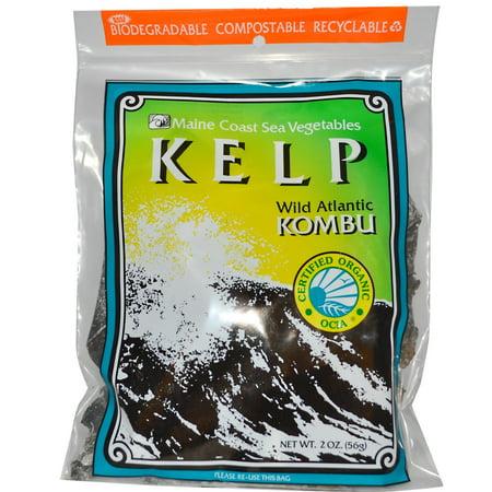 Maine Coast Sea Vegetables Kelp, Wild Atlantic Kombu, 2 Oz