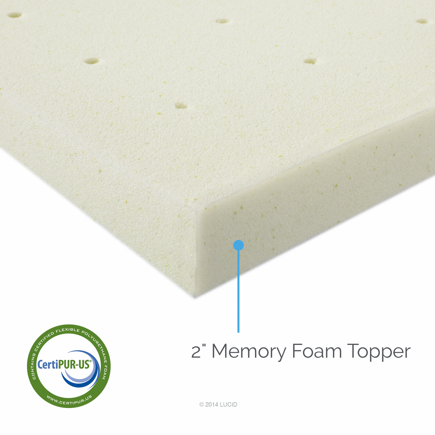 Memory Foam Mattress Topper For Queen Sleeper Sofa