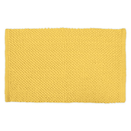 Design Imports Popcorn Bathroom Rug, Small, 100% Cotton, Multiple - 100% Cotton Rag