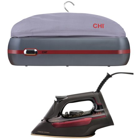 CHI Iron & Garment Steamer Bundle The best in class iron and steamer are now available today as a Holiday Bundle. The perfect gift for your friends and family, or even yourself! CHI Clothing Iron Walmart Exclusive (Model 13104) + CHI Garment Steamer Bag