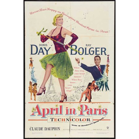 April in Paris POSTER (27x40) (1952)