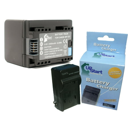 Canon Vixia Hf R300 Battery And Charger Replacement For