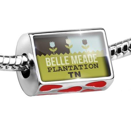 Bead US Gardens Belle Meade Plantation - TN Charm Fits All European Bracelets