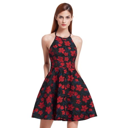 Ever Pretty Ever Pretty Womens Fashion Short Hater Floral Formal
