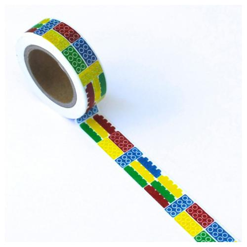 Washi Tape 15mmx10m-Block