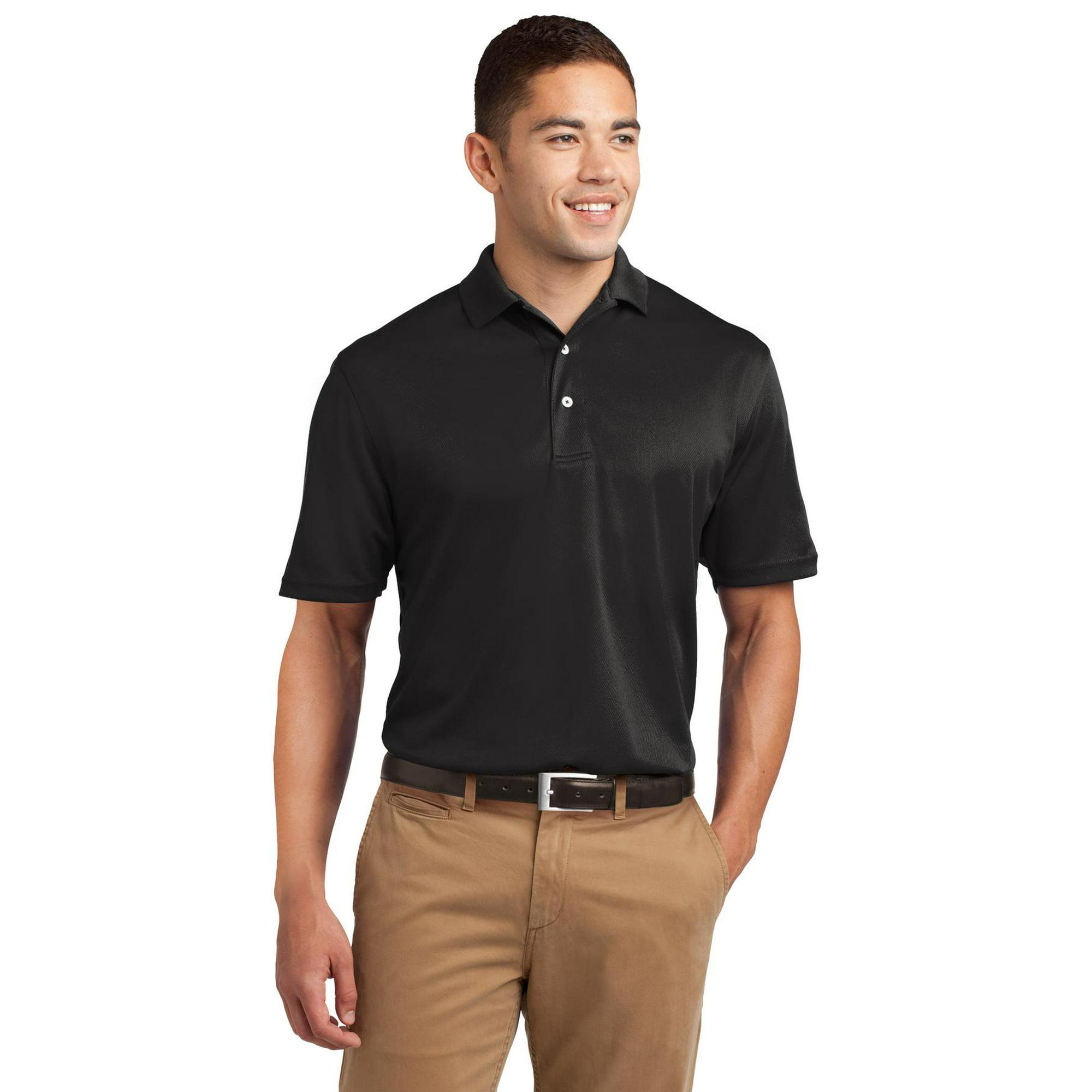 1edd1b290 Sport-Tek® Dri-Mesh® Polo. K469 Black Xs   Walmart Canada