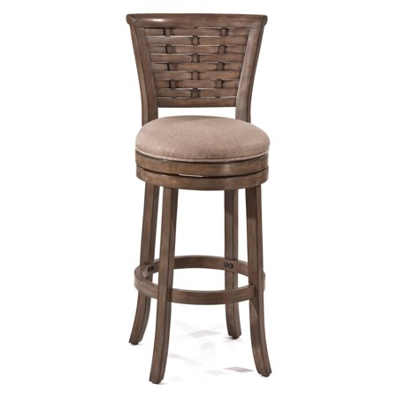 30u0022 Thredson Swivel Barstool Wood/Gold - Hillsdale Furniture