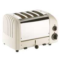 Dualit 4 Slice NewGen Toaster Canvas White