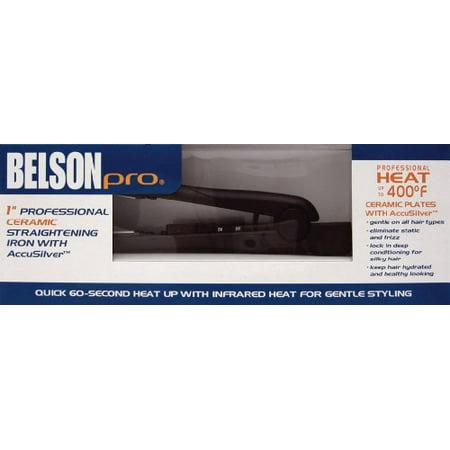 Belson Pro Ceramic Flat Iron 1 Walmartcom