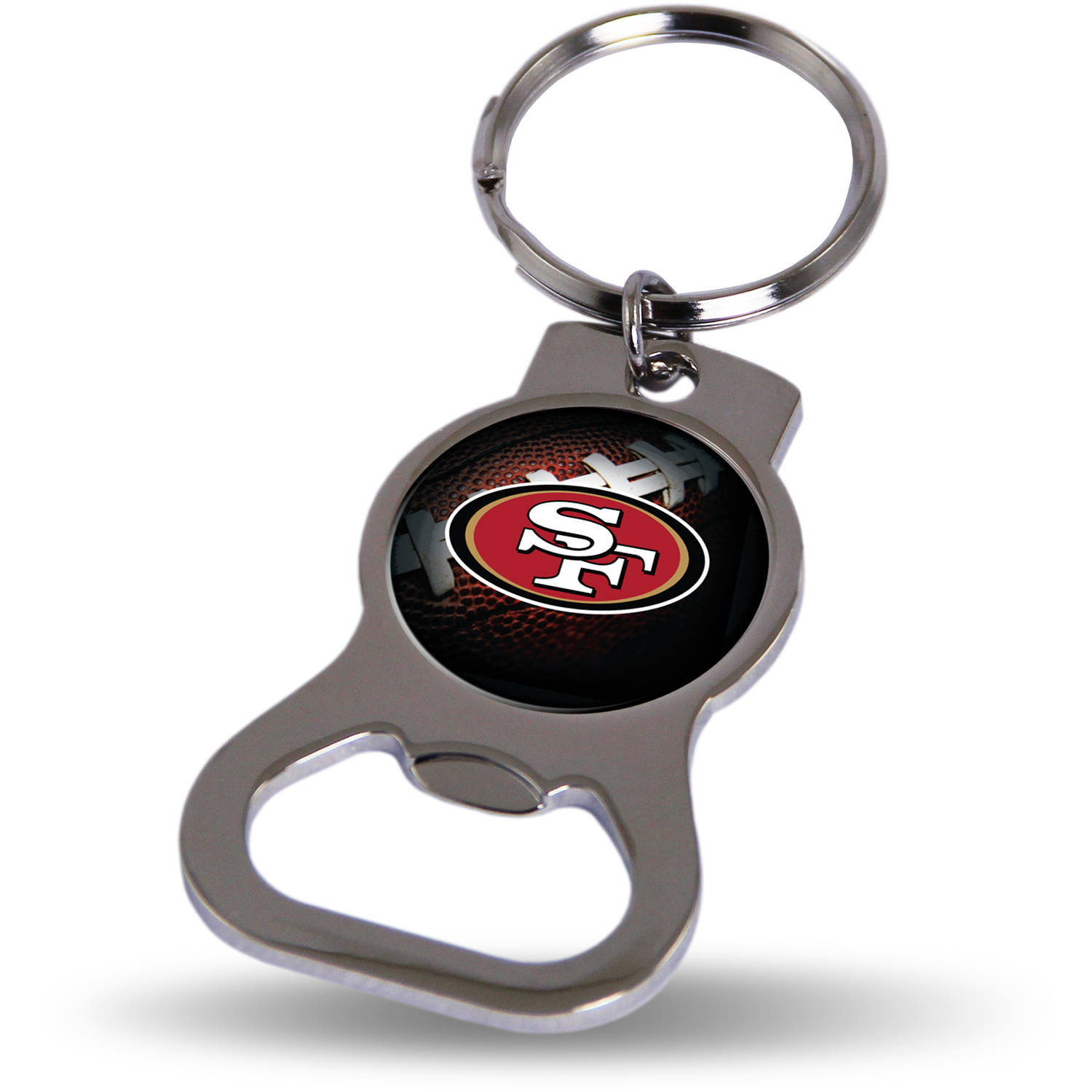 San Francisco 49ers Official NFL 3 inch  Bottle Opener Key Chain Keychain by Rico Industries