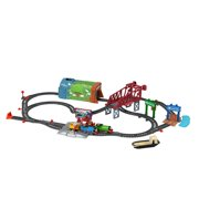 Thomas & Friends Talking & Percy Train Set, 42 Pieces