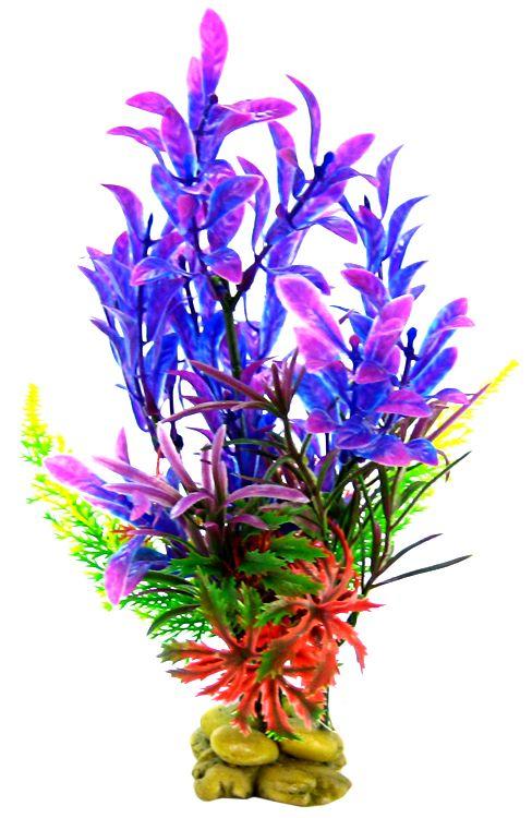 "Aquatic Creations Hygrophilia Aquarium Plant Blue Purple 8"" High by Aquatic Creations"