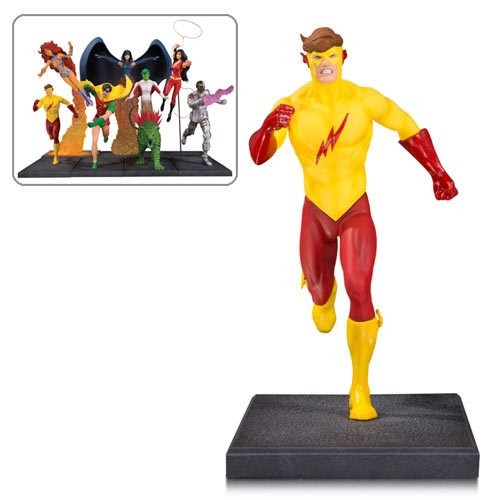 The New Teen Titans Kid Flash Multi-Part Statue (Number of Pieces per case: 2) by