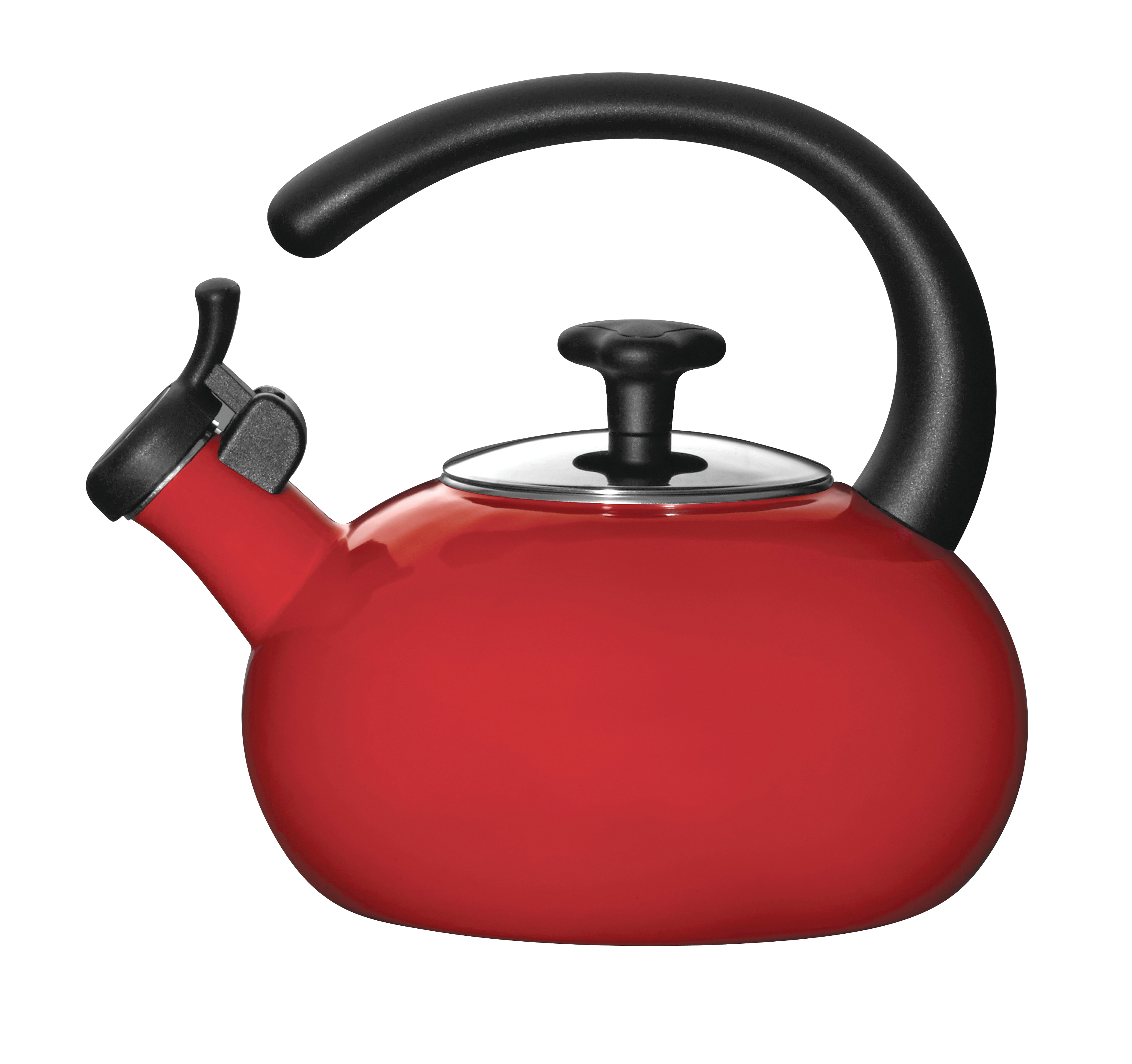Rachael Ray Teakettles 1-1/2 Quart Teakettle, Red