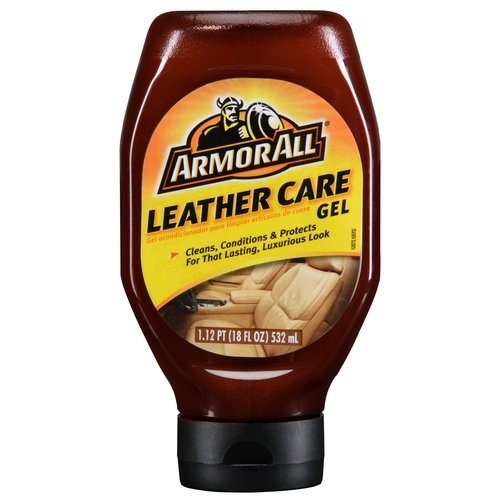Armor All Leather Care Gel, 18 Ounce, Car Leather Cleaner Conditioner