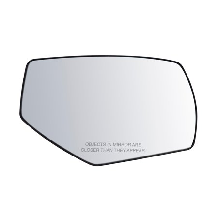 80283 - Fit System Passenger Side Non-heated Mirror Glass w/ backing plate, Chevy Silverado/ GMC Sierra 1500 14-18, Silverado 2500, 3500, Sierra 2500, 3500 15-18, Blind Spot, w/ o signal and auto dim