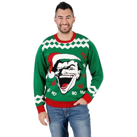 The Joker HAHA HOHO Ugly Christmas Sweater](Ugly Sweater Theme)