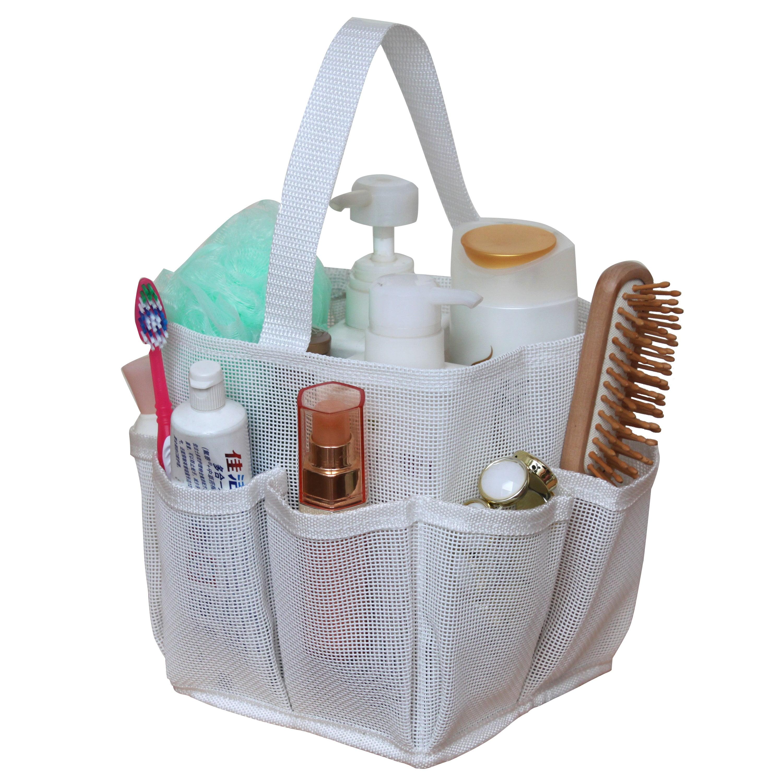 Breathable Mesh Shower Tote/ Bathroom Organizer BLUE - Walmart.com