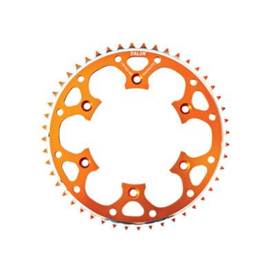 525 Rear Alloy Sprocket - Talon Rear Alloy Sprocket 50 Tooth Orange for KTM 525 XC-W 2007